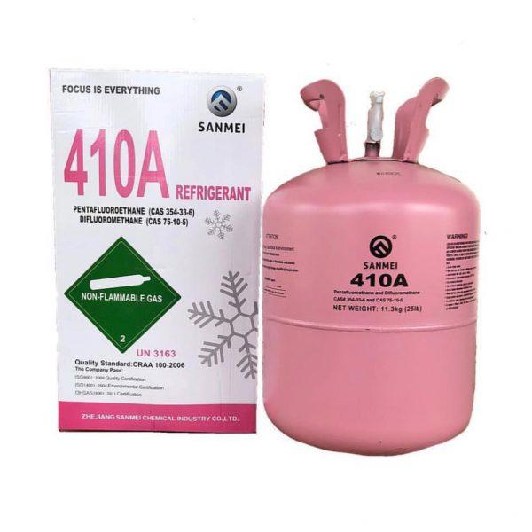 Gas lạnh Sanmei R410A
