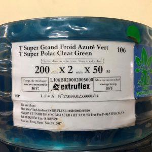 Màn nhựa PVC ngăn lạnh EXTRUFLEX - REF106-2002